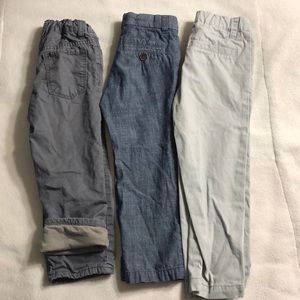 Set of 3- boys colored pants  👖